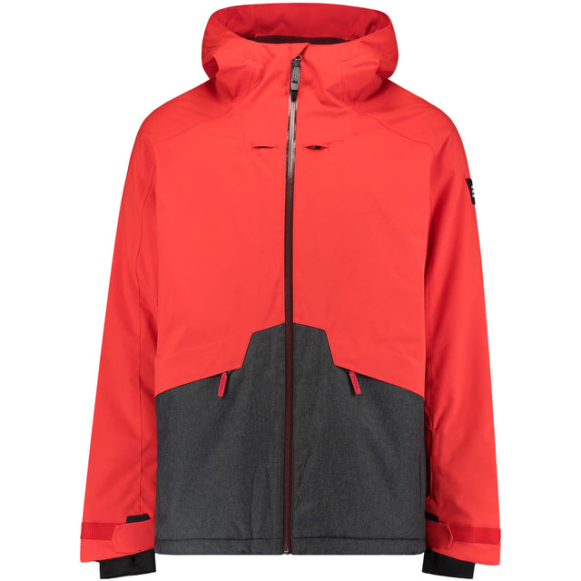 Mens Quartzite Snow Jacket - Fiery Red