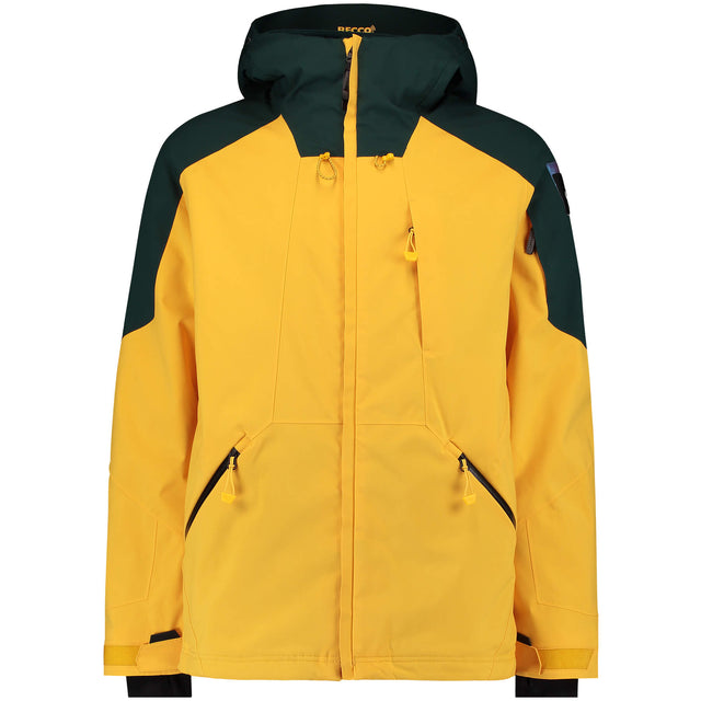 Mens Total Disorder Snow Jacket - Old Gold
