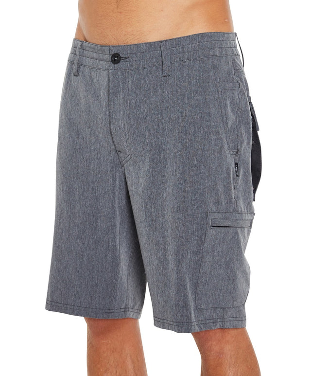 Traveler Utility Hybrid Shorts - Black