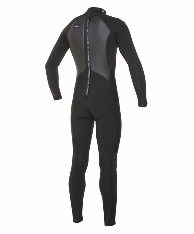 Defender 3/2mm Steamer Back Zip Wetsuit - Black