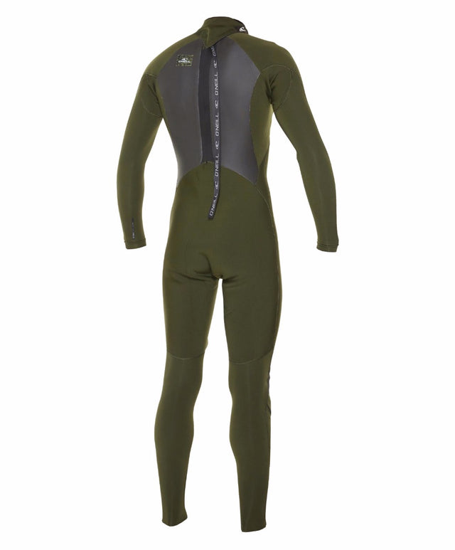 Defender Back Zip 3/2mm Steamer Wetsuit - Nightgreen/Nightgreen