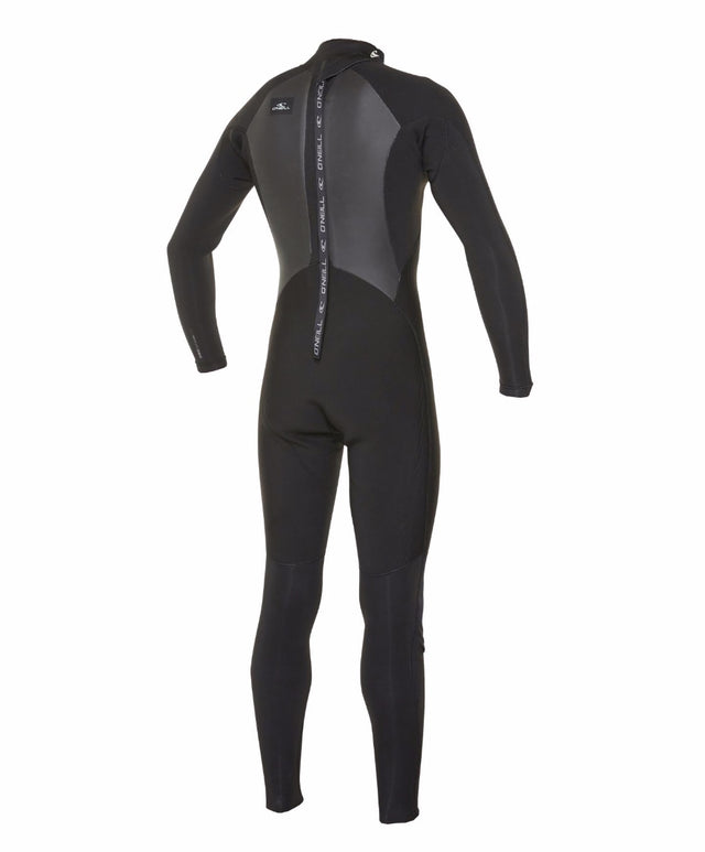 Defender 4/3mm Steamer Back Zip Wetsuit - Black
