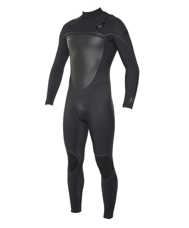 Psychofreak 3/2mm Steamer Chest Zip Wetsuit - Black