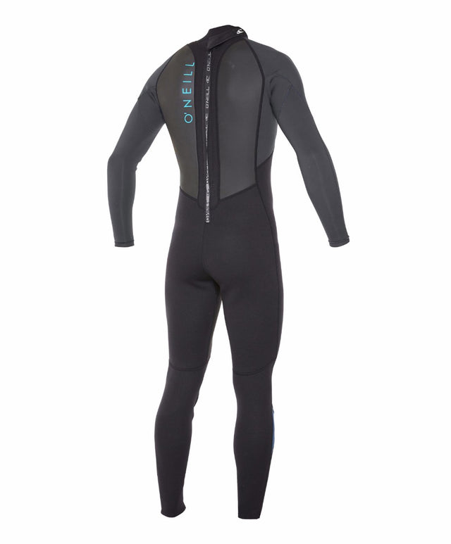Reactor II Full 3/2mm Steamer Wetsuit - Black/Graphite