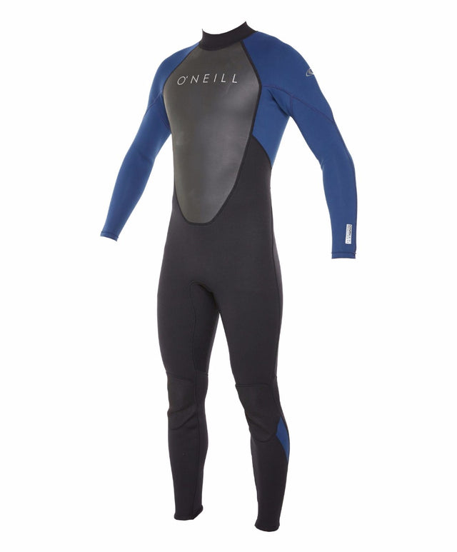 Reactor II Full 3/2mm Steamer Wetsuit - Black/Navy