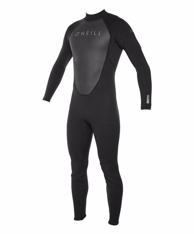 Reactor II Full 3/2mm Steamer Wetsuit - Black