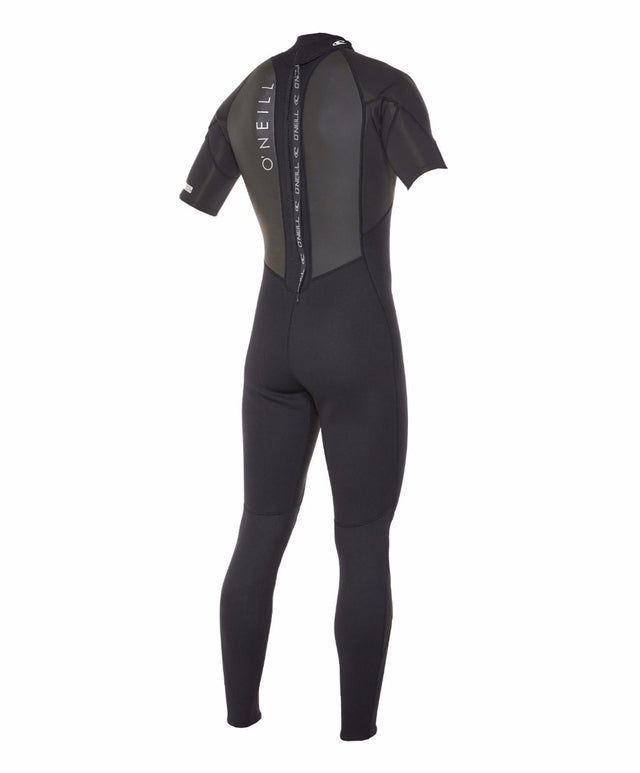 Reactor II Short Sleeve Full 2mm Steamer Wetsuit - Black