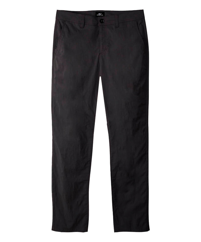 Mission Hybrid Chino Pant - Black