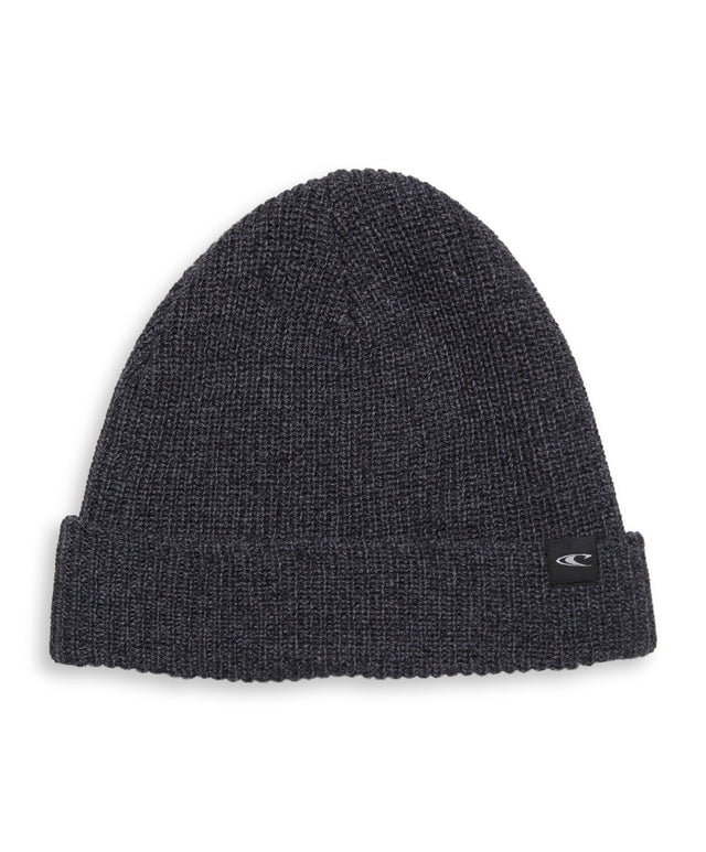 Jacks Base Beanie - Charcoal Marle