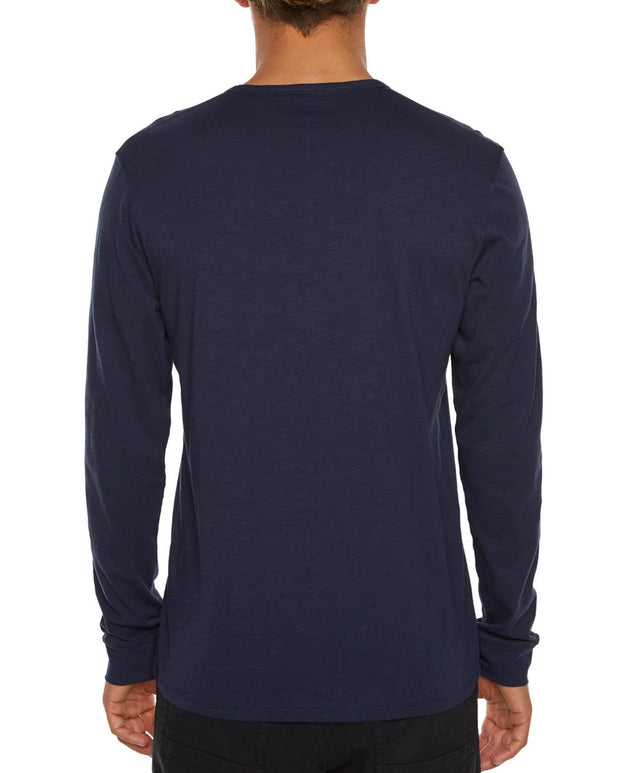Jacks Base Long Sleeve T-Shirt - Ink Blue
