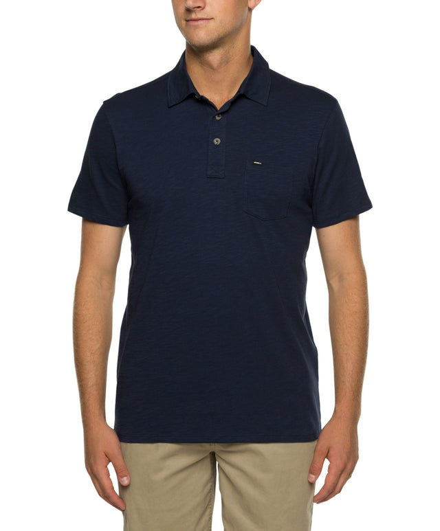 Jacks Base Polo - Ink Blue