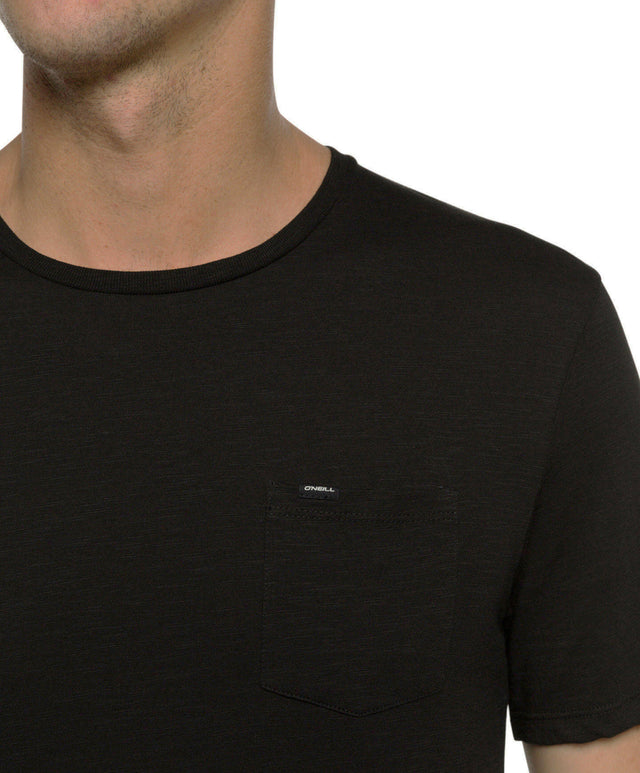 O/'Neill LM Stay Out Longer Crew-Neck Men/'s T-Shirt Black Out