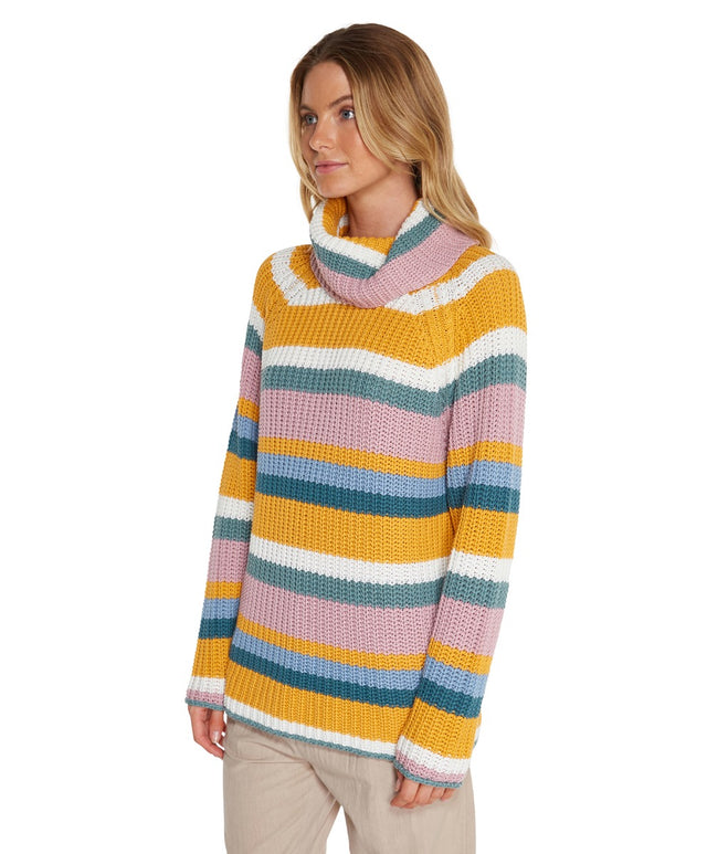 Wilbur Knitted Jumper - Allsorts Stripe