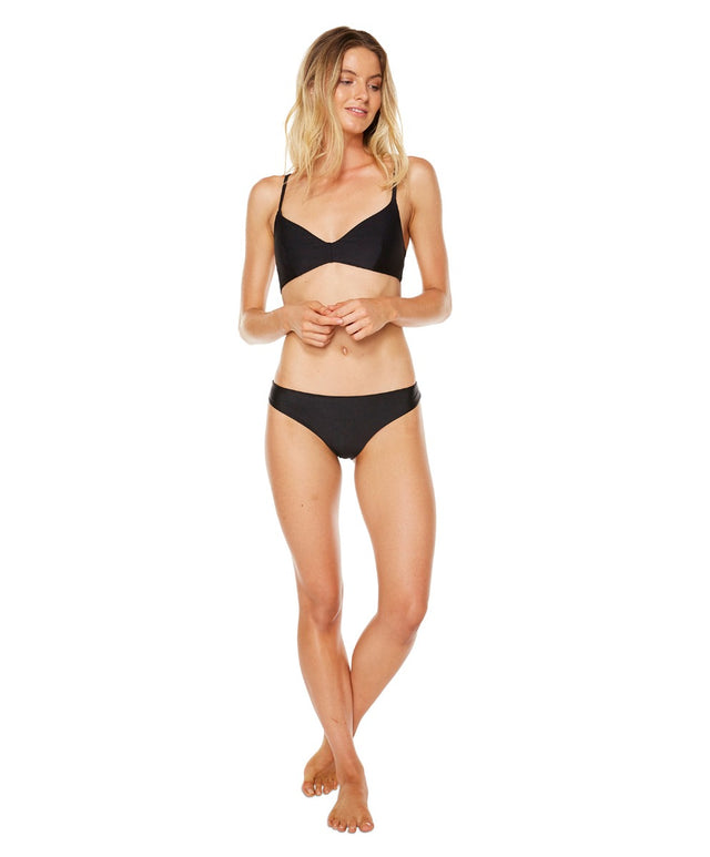 Acacia Bikini Top - Black Out