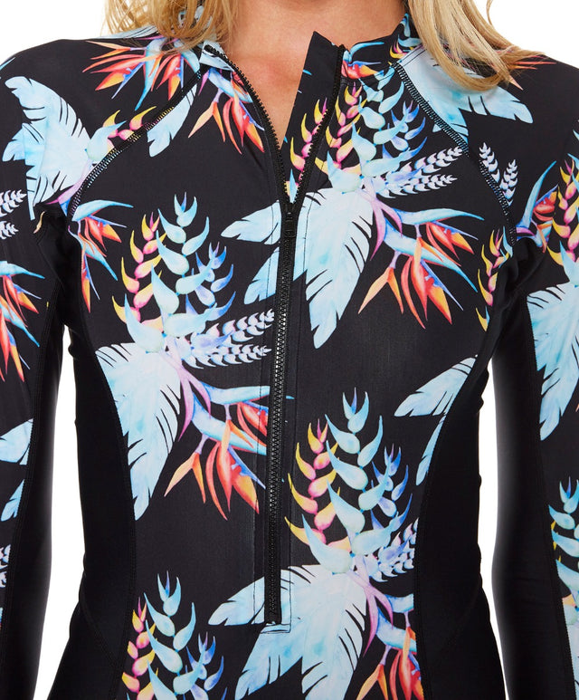 Royal Surfsuit - Black Tropical