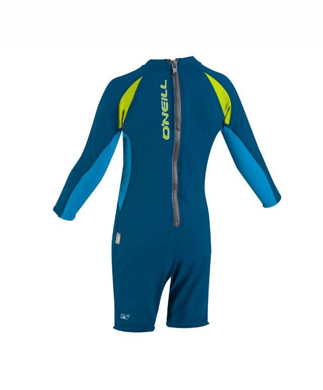 Toddler Ozone Long Sleeve Rash Suit - Deepsea/Sky/Lime