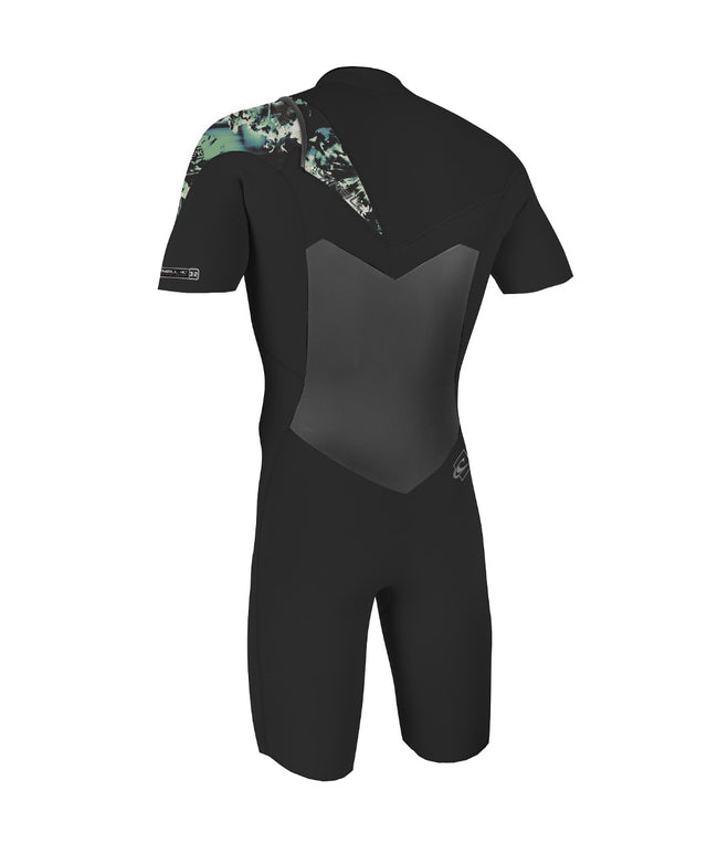 Boys Superfreak 2/1mm Spring Wetsuit - Black/Black/Taco