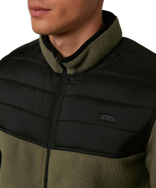Permit Zip Superfleece - Black