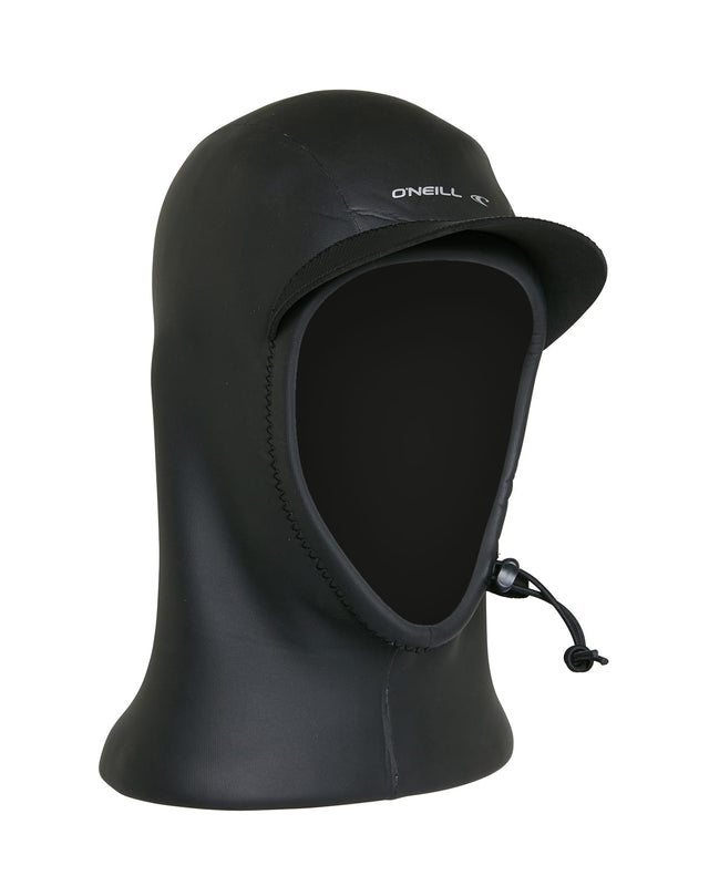 Psycho 3mm Coldwater Wetsuit Hood - Black
