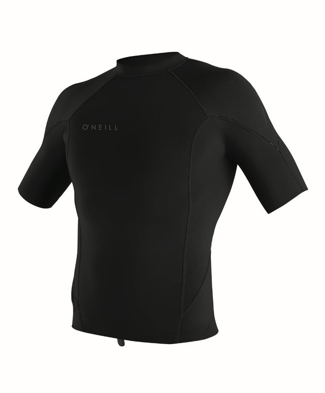 Reactor II 1mm Short Sleeve Wetsuit Jacket - Black