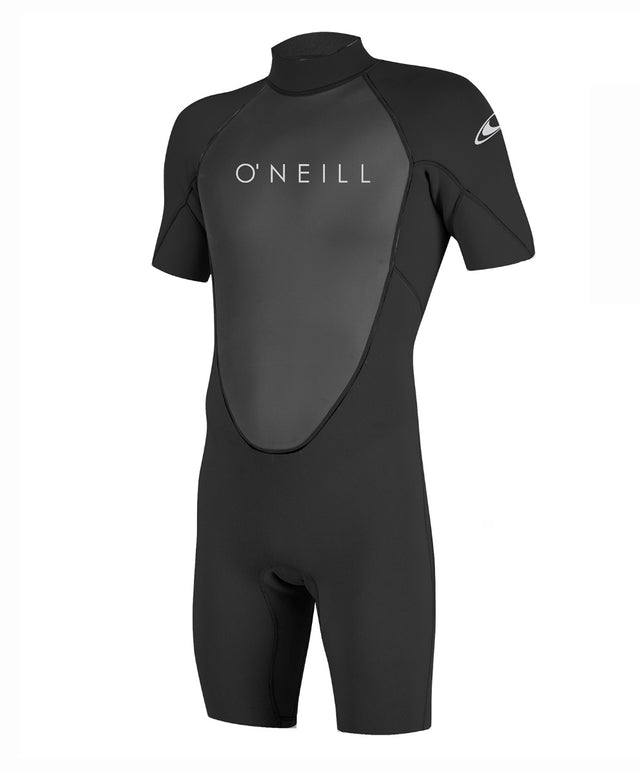 Reactor II 2mm Short Arm Spring Wetsuit - Black