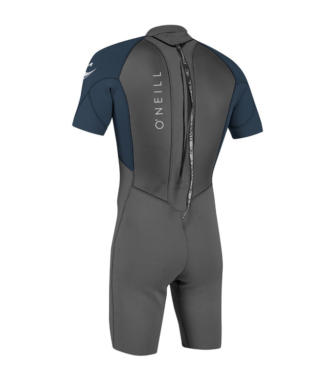 Reactor II 2mm Short Sleeve Spring Wetsuit - Graphite/Slate