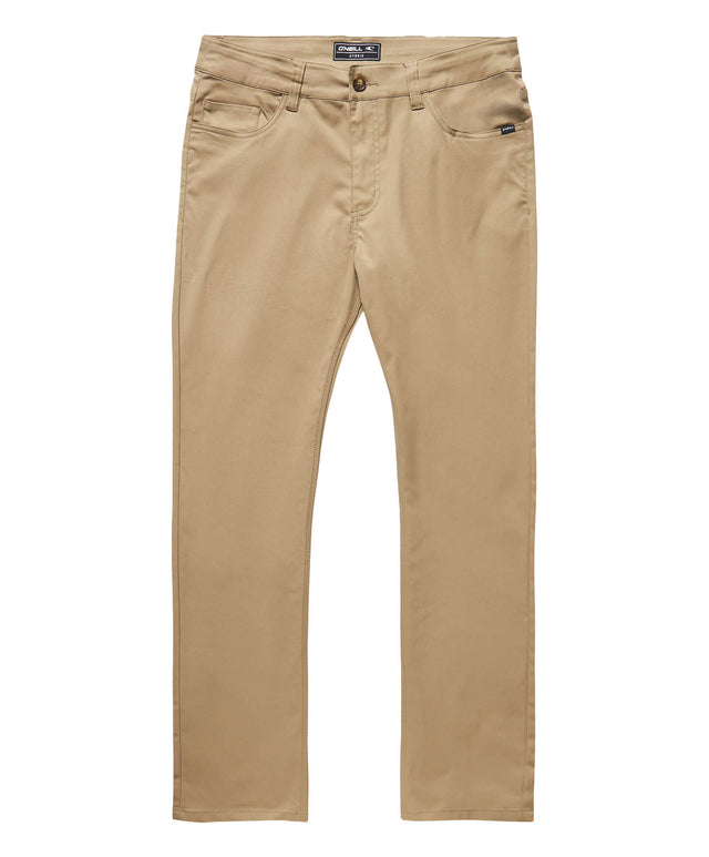 Redlands 5 Pocket Hybrid Pant - Khaki