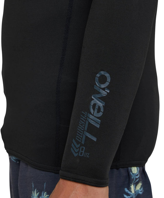 Thermo Long Sleeve Rash Vest - Black