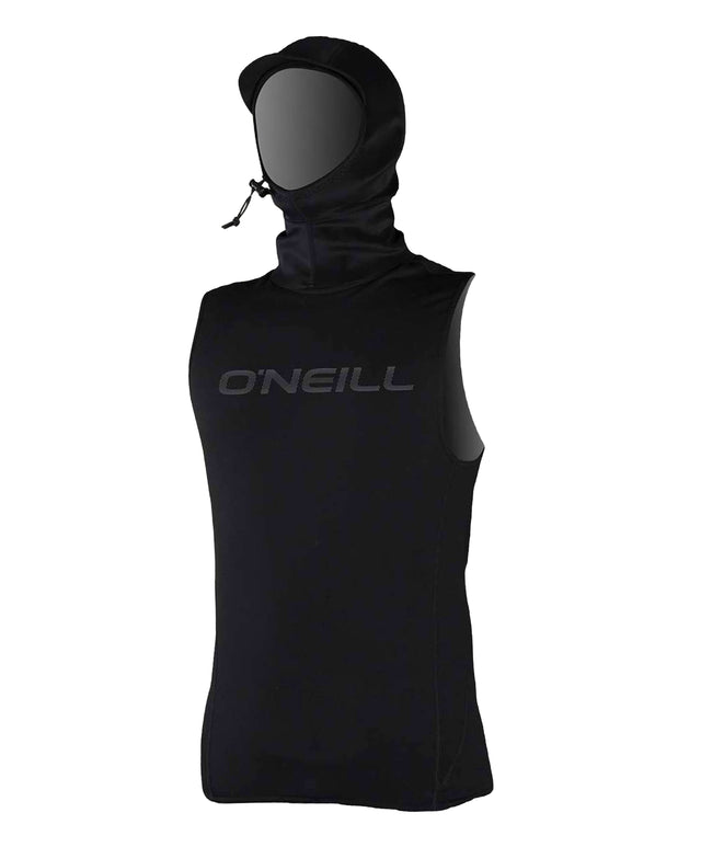Thermo X Hooded Wetsuit Vest - Black
