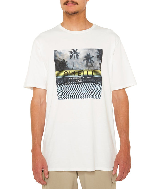 Wavelength Tee - Super White