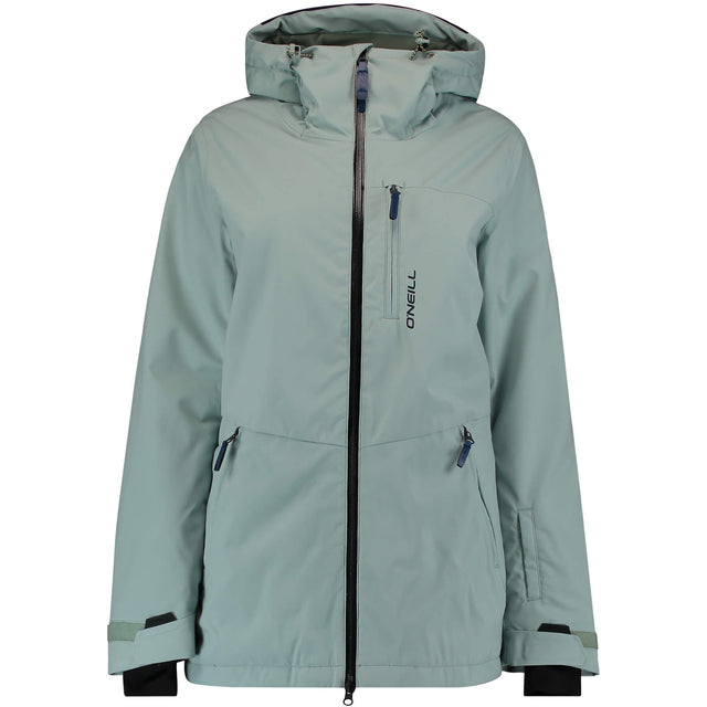 Womens APO Snow Jacket - Jadeite