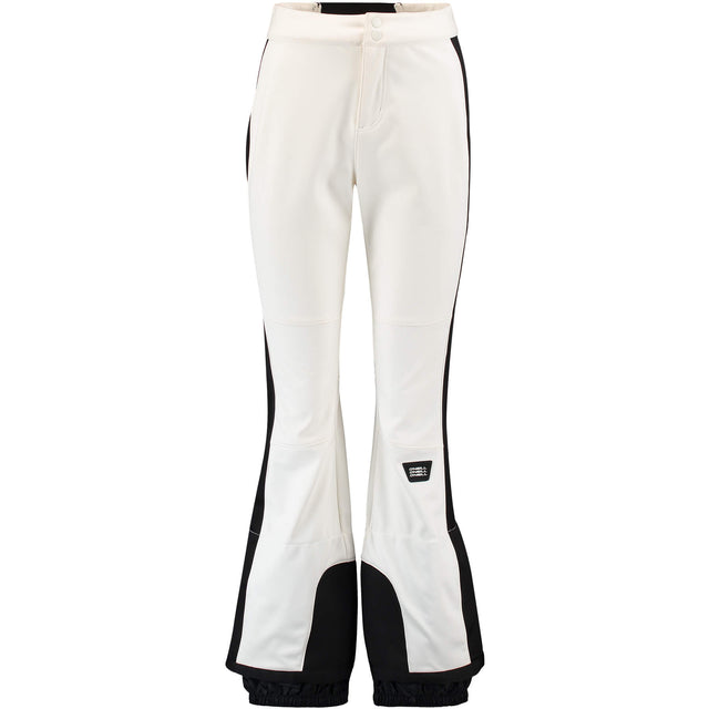 Womens Blessed Skinny Snow Pants - Powder White