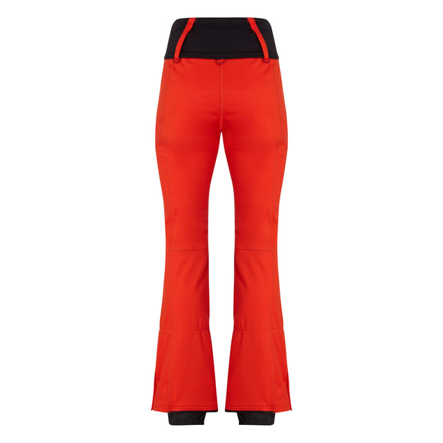 Womens Blessed Snow Pants - Fiery Red