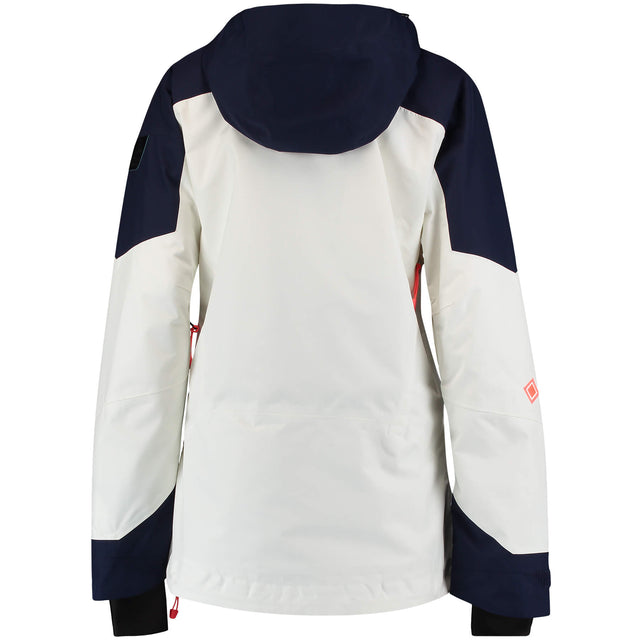 Womens GTX 2L Psycho Tech Anorak Jacket - Powder White