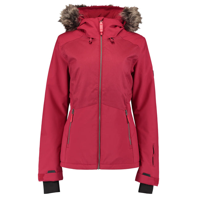 Womens Halite Snow Jacket - Rio Red