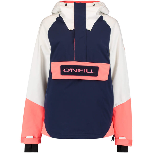 Womens O'Riginals Anorak Snow Jacket - Powder White