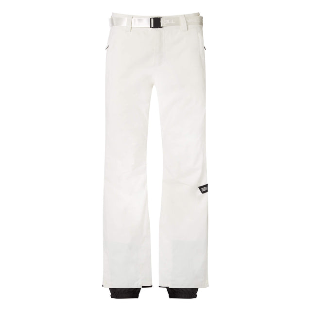 Womens Star Slim Snow Pants - Powder White