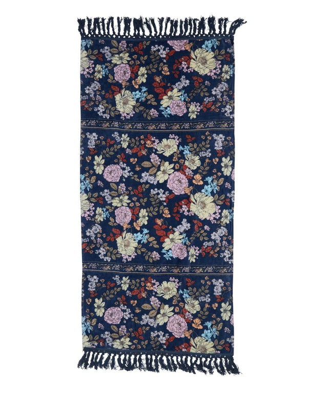 Sunray Towel - Navy Poppy