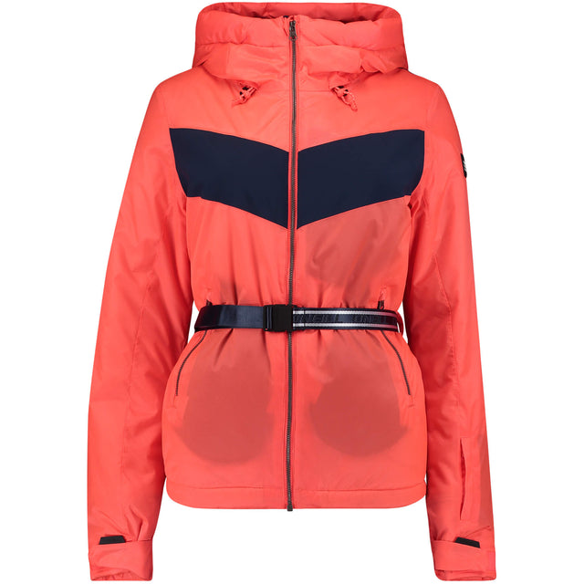 Womens Wels Snow Jacket - Fiery Coral