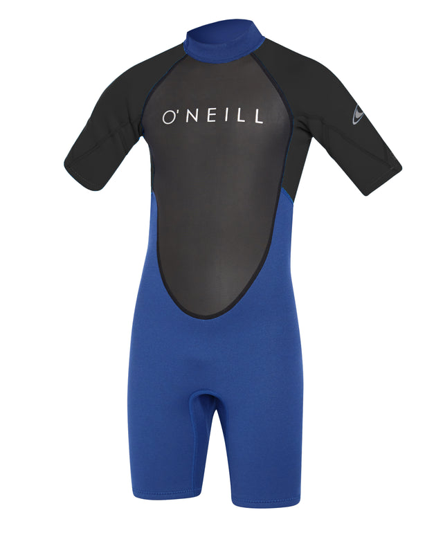 Youth Reactor II 2mm Short Arm Spring Suit - Ocean/Black