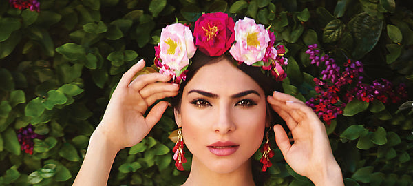 Mexican Braided Hairbands Floral Crowns And Sprays