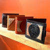 Handmade Mexican Leather Bi-fold Wallets made in Oaxaca