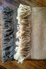 Huitzilli Handwoven 100% Sheep Wool Shawl or Scarf in Grey or Natural