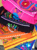 Authentic handmade embroidered Mexican Peasant dress colors