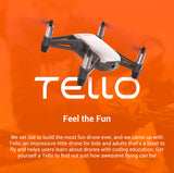 Powered By DJI Tello Minidrone Quadcopter 5MP Photos / 720P Video - branch-and-arrow