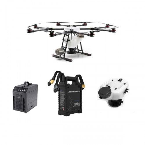 DJI Agras MG-1P + Advanced Spraying System Ready to Fly Bundle - branch-and-arrow