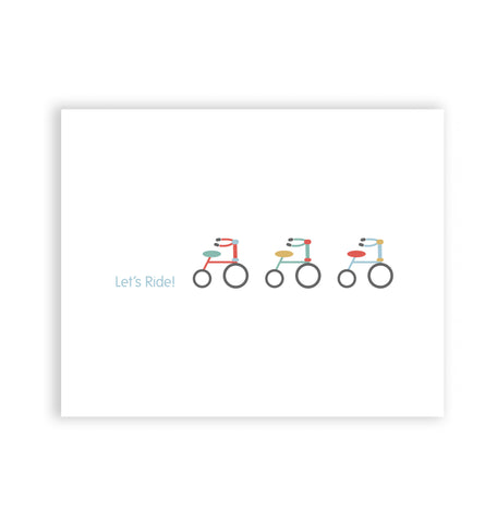Let's Ride! Art Print
