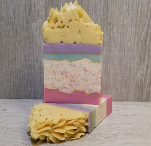 February Soap Challenge - Lemon Birthday Cake