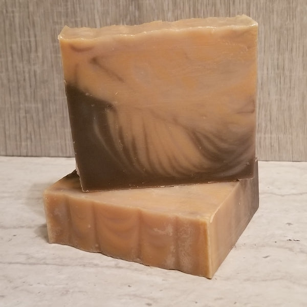 Pumpkin Spice Cake Soap Bar