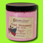 Fresh Strawberry Sugar Scrub